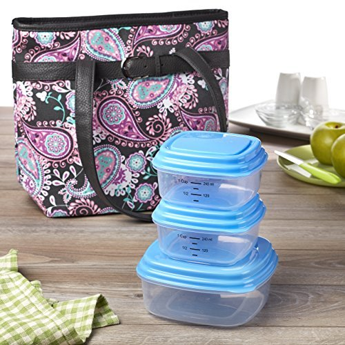 fit-fresh-newberry-insulated-lunch-bag-kit-with-reusable-container-set-zipper-closure-by-fit-fresh
