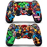 Vanknight Vinyl Decals Skin Stickers 2 Pack for PS4 Controllers Skin
