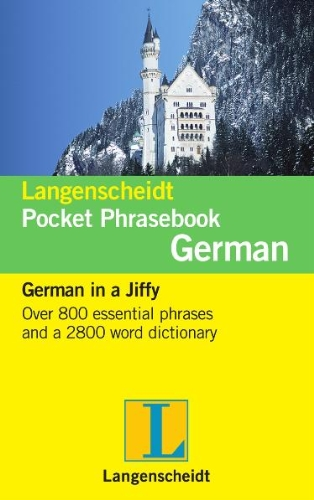 Langenscheidt Pocket Phrasebook German (Langenscheidt Pocket Phrasebooks)