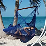 Moontree Hanging Bed Hammock Swing Bed Hanging Rope Chair Swing Chair Hammock Chair-blue