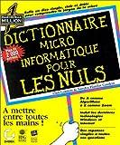 echange, troc Dan Gookin, Sandy Gookin - Dictionnaire micro-informatique pour les nuls