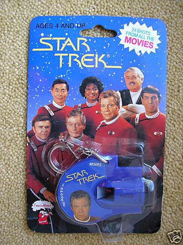 1993 Star Trek Key Chain Click Viewer