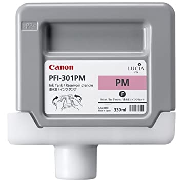 Canon Imageprograf IPF 8100 (PFI-301 PM / 1491 B 001) - original - Ink cartridge bright magenta - 330ml
