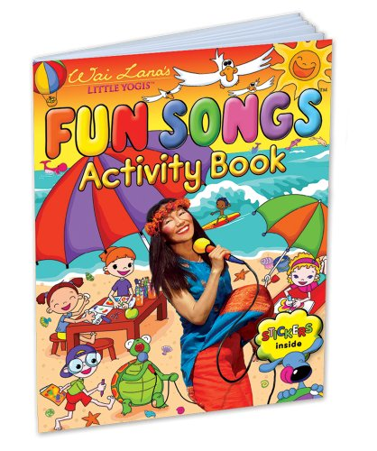 Wai Lana's Little Yogis: Fun Songs Activity Book - 1