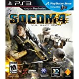 SOCOM 4: U.S. Navy Seals - Playstation 3 ~ Sony Computer...