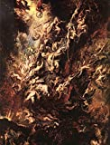"The Fall of the Damned by Peter Paul Rubens - 20"" x 25"" Premium Canvas Print"