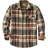 Legendary Whitetails Buck Camp Flannels Cedarwood Plaid X-Large Tall