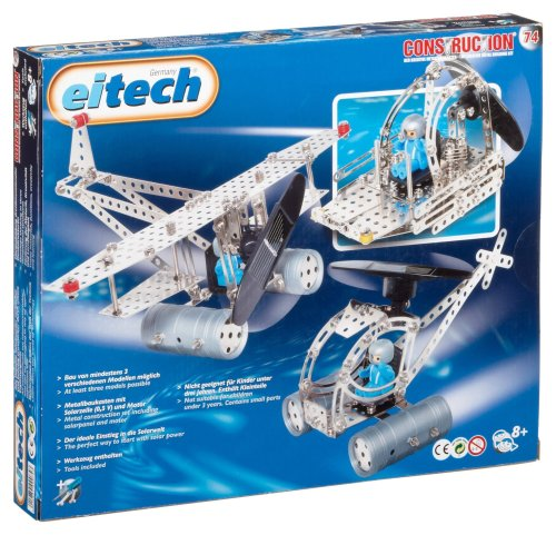 Eitech-00074-Metallbaukasten-Helikopter-mit-solarbetriebenem-Motor-300-teilig