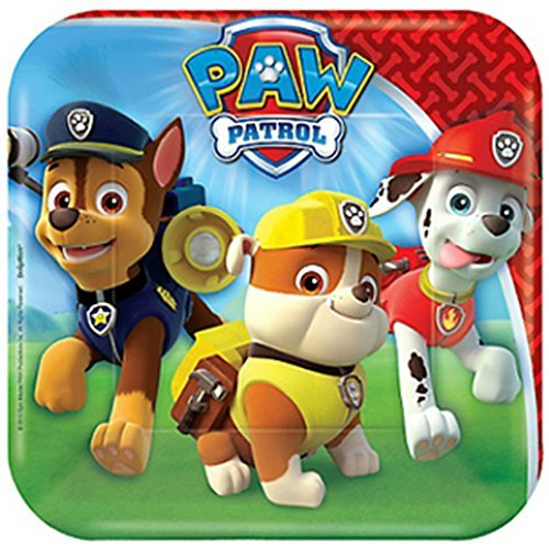 Paw Patrol Small Paper Plates (8ct) - 1