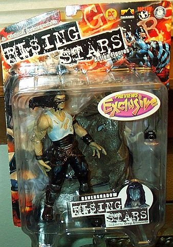Rising Stars Ravenshadow Action Figure - 1