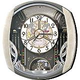 SEIKO CLOCK(セイコークロック)Disney (ディズニータイム) 掛け時計 ミッキー&フレンズ ミッキーマウス ミニーマウス 電波時計 ツイン・パ FW563A