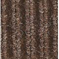 Andersen 870 Cobblestone Polypropylene Fiber Interior Floor Mat, Vinyl Backing, 8' Length x 4' Width, Brownstone