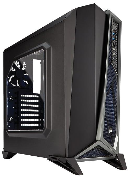 Corsair CC-9011084-WW Carbide Series SPEC-ALPHA Fenêtré Moyenne Tour ATX Boitier gaming Noir/Argent