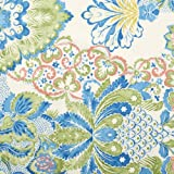 V&A Fabric - Damask (Teal)