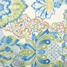 V&A Fabric - Damask (Teal) - Fat Quarter