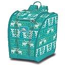 High Sierra Trapezoid Boot Bag Knitty Pow/Tropical Teal