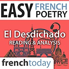 El Desdichado (Easy French Poetry): Reading & Analysis Audiobook by Gérard de Nerval Narrated by Camille Chevalier-Karfis