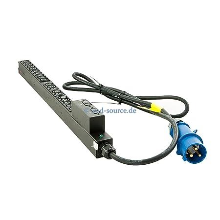 HP 7,3kVA INTL de base de PDU 230V avec IEC309-32A de entrée 20x C13sorties H5M68A