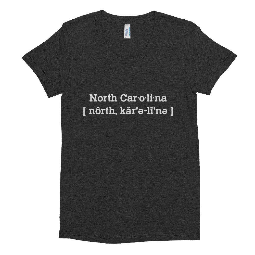 Buy North Carolina Womens T Shirt Now!