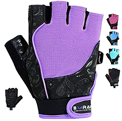 Authentic EMRAH Ladies Gel Gloves Fitness Gym Wear Weight Lifting Workout Training Cycling by EMRAH