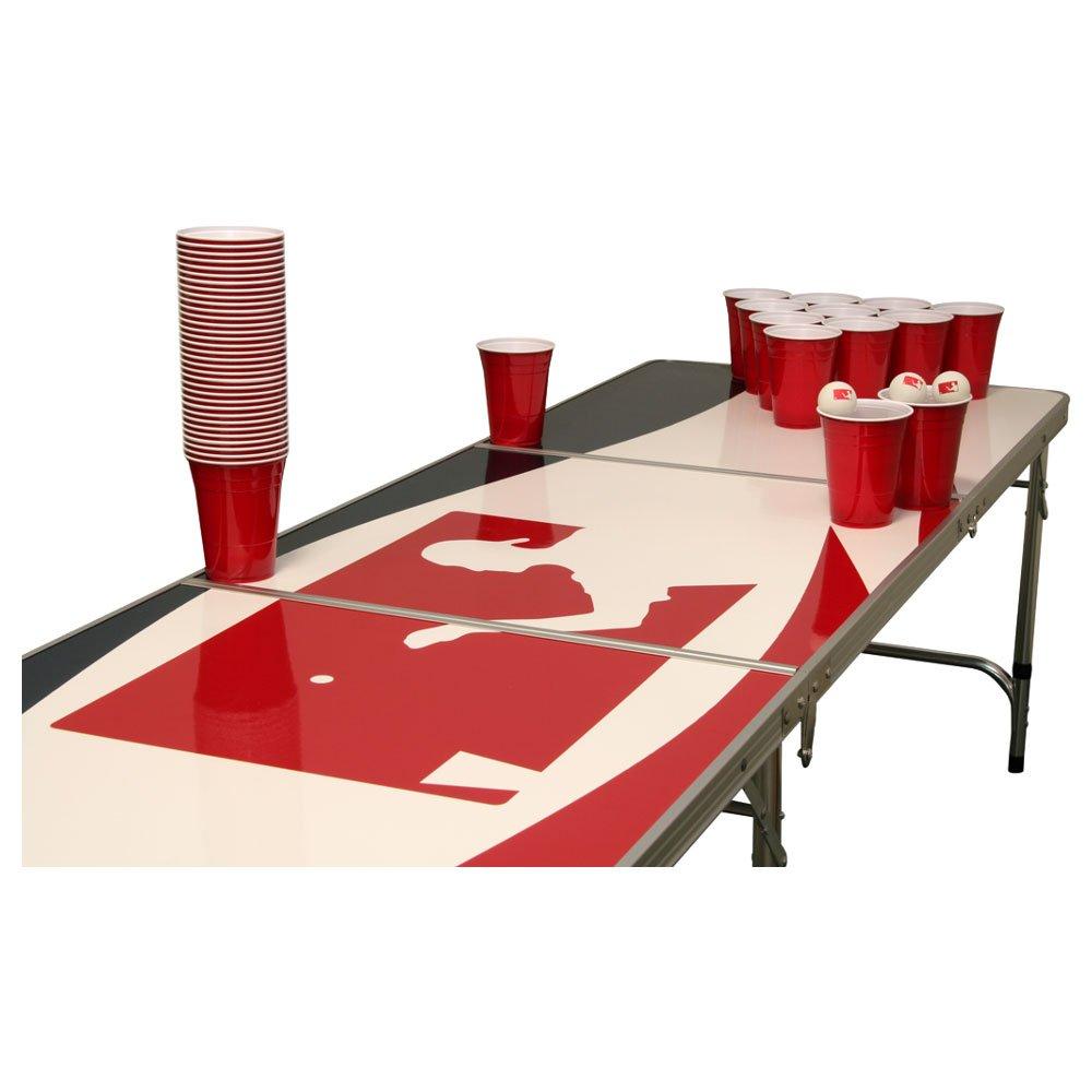 Logo Beer Pong Tisch Set - 1 Beer Pong Tisch inkl. 50 SOLO Red Cups und 6 Bällen