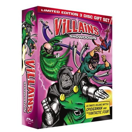 Villains Showdown Limited Edition 3-Disc Gift Set (Fantastic Four vs Dr. Doom, Spider-Man vs Dr. Octopus, Spider-Man vs The Vulture)