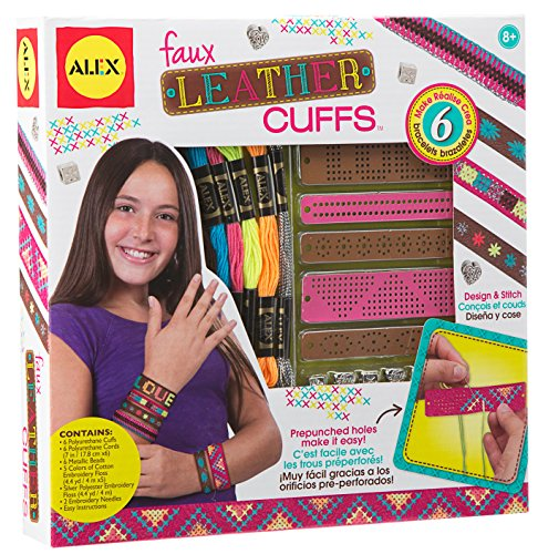 ALEX Toys Do-It-Yourself Wear Faux Leather Cuffs Kit