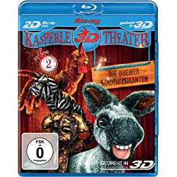 The Bremen Town Musicians (Blu-ray 3D) [Region Free]