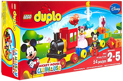 Lego Duplo Disney Mickey Minnie Birthday Parade 0673419232630