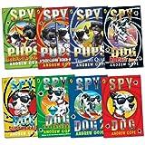 Spy Dog and Spy Pups Pack, 8 books, RRP £39.92 (Spy Dog; Spy Dog 2; Spy Dog Super Brain; Spy Dog Unleashed; Spy Dog: Rocket Rider; Spy Pups: Circus Act; Spy Pups: Prison Break; Spy Pups: Treasure Quest).