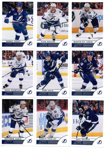 Looking For 2013 14 Score Hockey Cards Team Set Tampa Bay Lightning 19 C