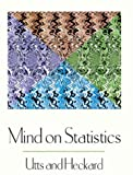 Mind on Statistics (with CD-ROM) (0534359353) by Utts, Jessica M.