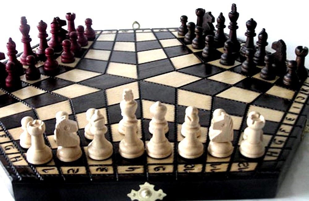 3 Personen Schach, 3 Personen Schach kaufen, Schach für 3 Personen, drei Personen Schach, 3 Mann Schach, dreier Schach, 3 Personen Schach holz, 3 Personen Schachbrett, 3 Personen Schachspiel, 3 Personen Schachset