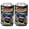 Jeff Gordon Official NASCAR 12oz Can Cooler Coozies - 2 Pack