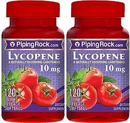 Lycopene 10 mg 2 Bottles x 120 Liquid caps