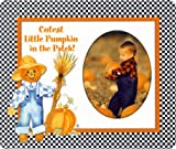 Cutest Little Pumpkin in the Patch - Halloween Photo Magnet Frame