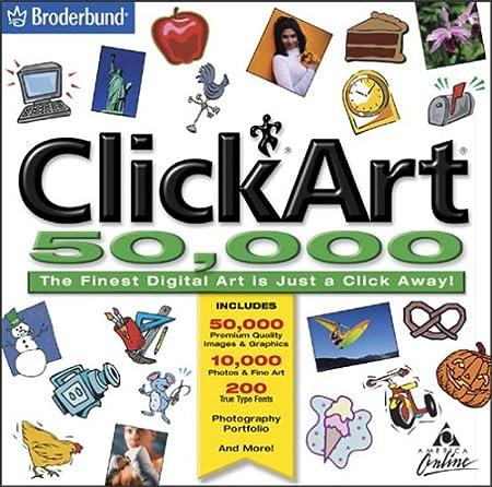 ClickArt 50,000 (Jewel Case)