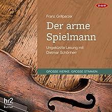 Der arme Spielmann Hörbuch von Franz Grillparzer Gesprochen von: Dietmar Schönherr