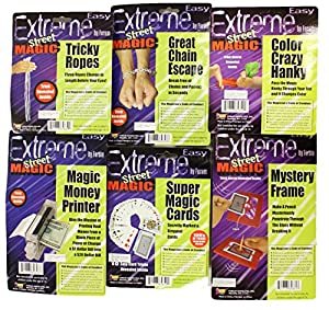 The Magician's Starter Pack - Set of 6 Magic Tricks