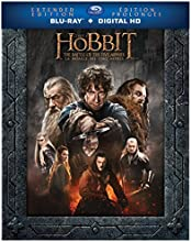 The Hobbit: The Battle of the Five Armies Extended Edition [Blu-ray + Digital Copy]