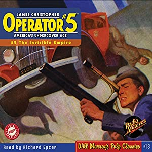 Operator #5, Adventure 2, May 1934 | [ RadioArchives.com, Curtis Steele]