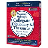 Merriam-Webster's 11th Edition Collegiate Dictionary & Thesaurus ~ JC Research