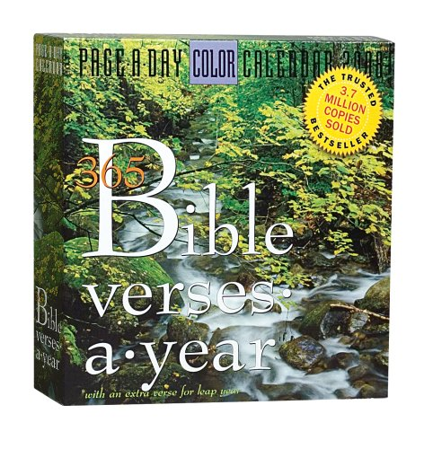 365 Bible Verses-A-Year Page-A-Day Calendar 2008