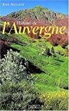echange, troc Jean Anglade - Histoire de l'Auvergne