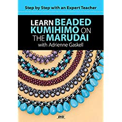 Learn Beaded Kumihimo on the Marudai