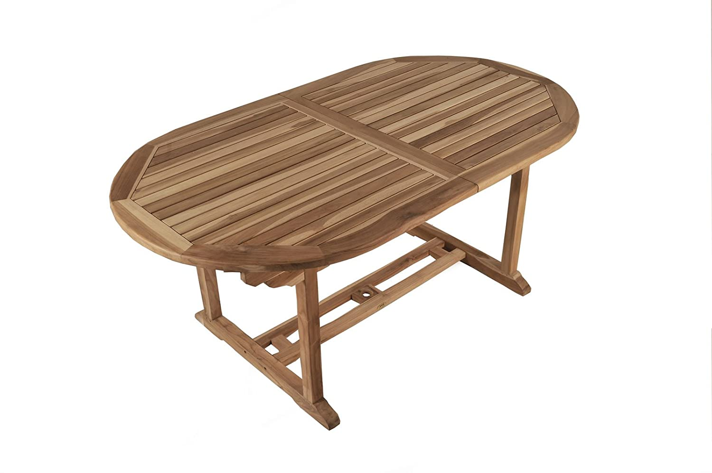 SAM® Teak Holz Gartentisch Auszugstisch Aruba XL