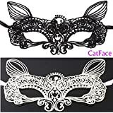Alcoa Prime New Best Promotion 1 PCS Sexy Wild Lace Mask Cutout Eye Mask For Halloween Masquerade Party Fancy...