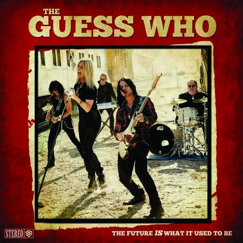 CD : The Guess Who - The Future Is What It Used To Be (CD)
