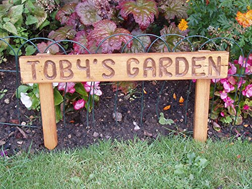 personalised-handmade-pre-assembled-wooden-70mm-high-oak-stained-garden-sign