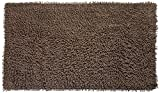 Modern Homes Mocha-Brown Cotton Tufted Bath Mat